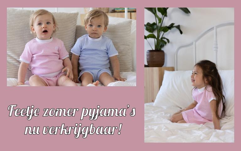 Feetje zomer pyjama's