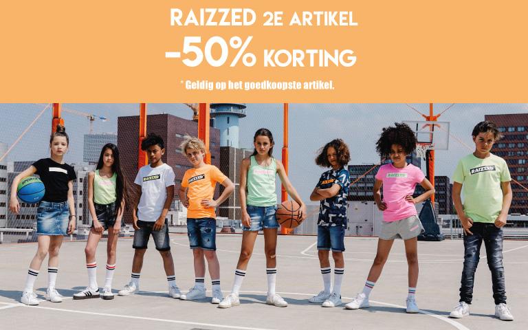 RAIZZED 2e item -50% korting