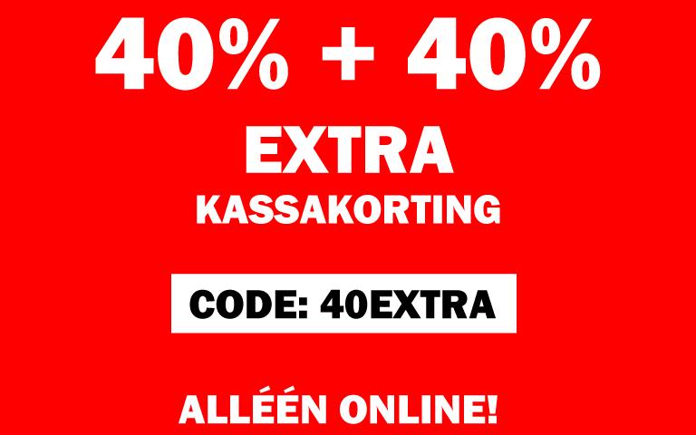 SALE 40+40% EXTRA